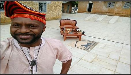 Menkam Tchiago III Présente le bilan d'activés de La Fondation Baaré-Tchamba en 2018