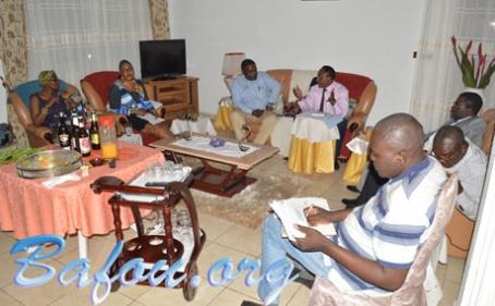 1ère réunion préparatoire du dîner-débat organisé par Bafou.org