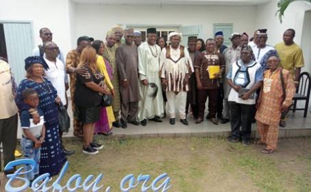 La communauté Baleng de Douala a eu l'immense privilège d'accueillir le dimanche 21 juillet 2019, Sa Majesté Jean Calvin TSOBGNY JOHNY BALENG III, Chef du Village Baleng (Bafou).
