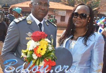 Promotion de M. DZOZONG ALIENOU Guy Alain au grade de Colonel