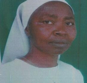 Faire-part et Invitation à la Messe d'action de grâce de Mère Rose-Chantal DJIAZET à l'occasion de la célébration du 25ème anniversaire de la vie religieuse dans la Congrégation des Filles de la Sainte Famille de Bafoussam