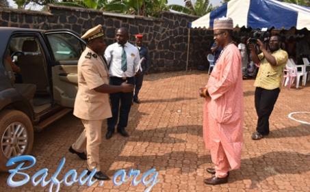 Tournée de prise de contact de Monsieur le Sous-Prefet de Nkong-Ni à la chefferie du village Menguem le 16/01/2020