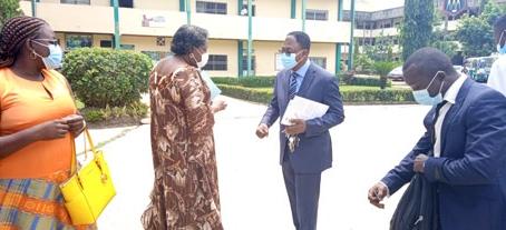 Rencontre entre les IPES membres de l'AUF de Douala et la Direction Régionale AUF Afrique Centrale et Grands Lacs à l'IUC.