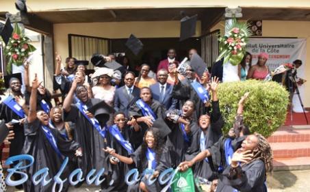 L'Institut Universitaire de la Côte livre une nouvelle cuvée de diplômés dans les filières ADI, IBM, LST, POLYTECH et ISUGA