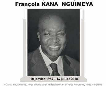 Avis de décès, faire part et programme des obsèques de Papa Sob KANA NGUIMEYA François