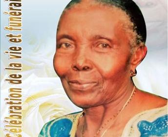 Faire-part : Célébration de la vie et funérailles de la Matriarche MEGNI MANFO Julienne épse NGUENA Fomenkeu Martin (Maa Fouo)