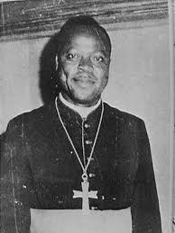 Invitation à la messe d'action de grâce à la mémoire de Mgr Albert NDONGMO et Papa DONGMO André le 21 mai 2018