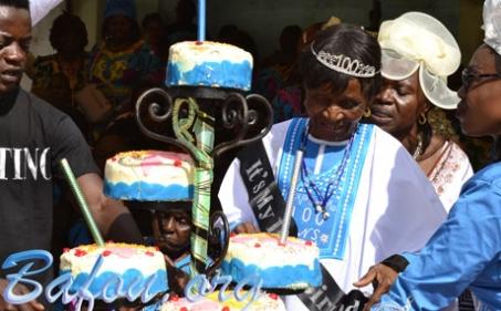 Célébration du centenaire de Ô'oh Méeh Megni NANGUE épse Tsueté Tetsopgang