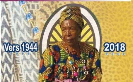 Avis de décès et programme des obsèques de Maman Eda NGOUADJIO du 14 au 16 juin 2018 à Bafou