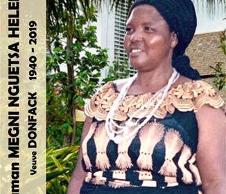 Avis de décès et programme des obsèques de Megni NGUETSA Hélène