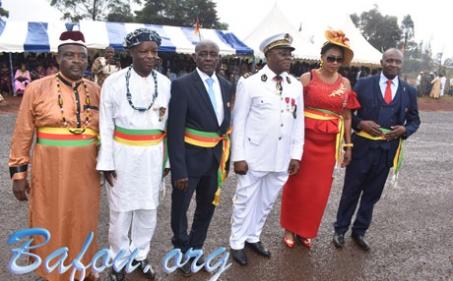 Cérémonies de prestation de serment et d'installation de l'exécutif communal de Nkong-Zem