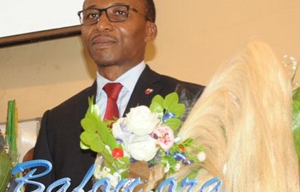 Le Professeur Choukem Siméon Pierre, premier Doyen de la Faculté de médecine et des sciences pharmaceutiques (FMSP) de l'Université de Dschang