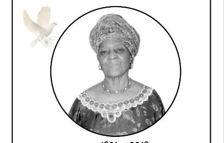 Avis de décès et programme des obsèques de Maman SONFACK Emilienne veuve KENFACK Gallo