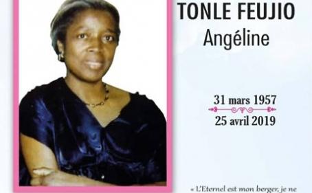 Avis de décès et programme des obsèques de Maman TONLE FEUJIO Angéline