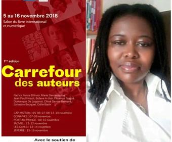 Florence Tsagué au salon du livre
