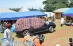S.M. Fo'o Leng TSOBGNI Jean Calvin heureux de recevoir une voiture de marque LAND CRUISER PRADO de son peuple