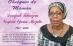 Faire-Part Programme des obsèques de Maman DEMFACK TCHEOZEM Virginie épse MEZATIO